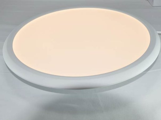 LED panel round 40cm dimmable in warm white 3000K or neutral white 4000K