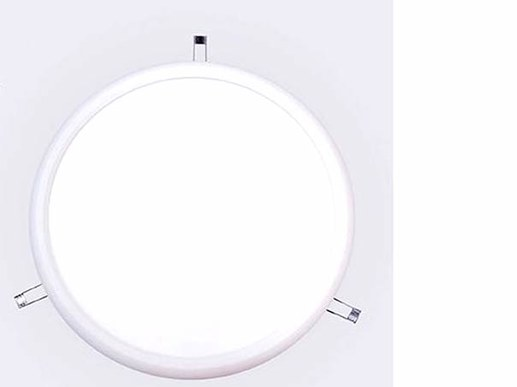 LED Panel dimmbar rund 40cm in 4000K Neutralwei� 1-10V dimmbar