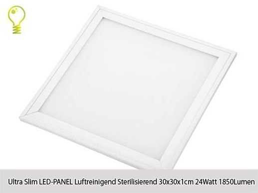 Hygienic LED Panel HG Lights 3030 with antibacterial effect 3000K-23W