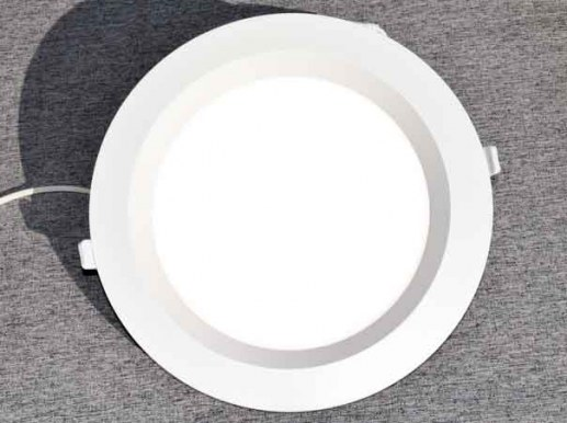 Large 300mm LED Downlight SAMSUNG® LEDs RA91 IP44 250-290mm Hole dimensions