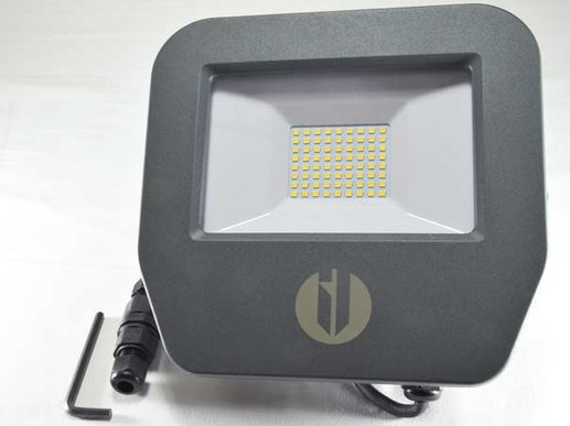 Led outdoor spotlight Samsung LEDs 4000K neutral white 5 years guarantee