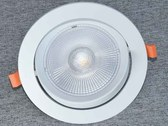 New series of LED spotlights flat, which are swivelling,...