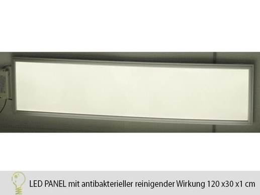 Hygienic LED Panel HG-Lights 120x30 with antibacterial effect 3000K-45W