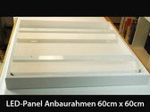 Anbaurahmen LED-Panel 60cm x60cm wei�