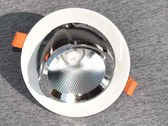 Swivelling LED recessed spotlight in three different...