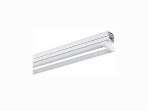 Quick mounting batten-system for 1500mm T8 LED tubes. Triple length 4.545m
