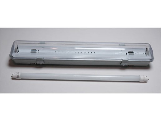 Feuchtraum Wannenleuchte LED 60cm inkl. LED-Röhre neutralweiß 850LM