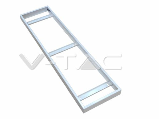 mounting case for 120x30 LED Panels white