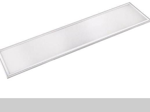 superflaches led panel 120x30cm warmweiss 3000k 60w alu 75 lm watt. Black Bedroom Furniture Sets. Home Design Ideas