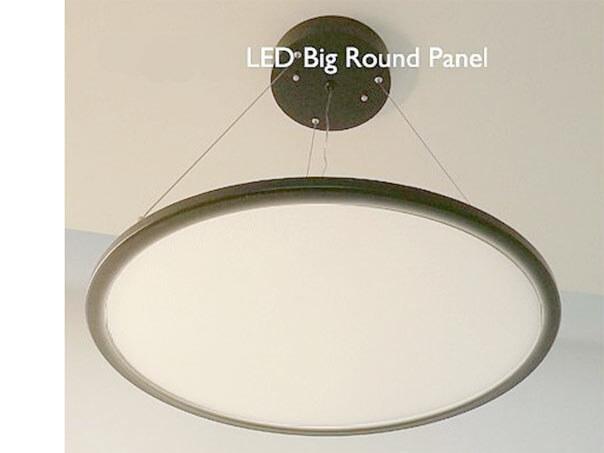 led panel rund led deckenleuchte warmwei dimmbar 58cm wei sz. Black Bedroom Furniture Sets. Home Design Ideas