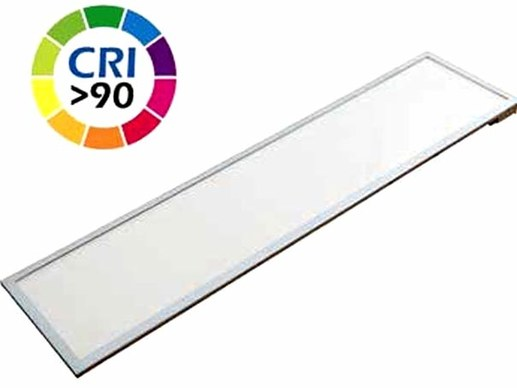 LED Panel light 120x30 CRI90 3600 Lumen