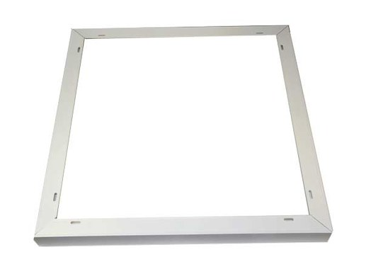 This TYP LED panel cover frame fits perfectly to our IP65 LED panels. The IP65 panels have a slightly thicker design and therefore do not fit into the common LED panel mounting frames on the market.This model is suitable for our two IP65 LED panels CRI90 with SAMSUNG LED chips and the LED panel IP65 with 24V operation. The second version is ideally suited for the LED PANEL 120x30cm .