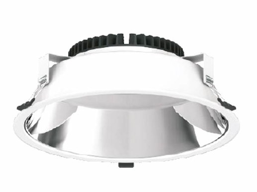 A selection switch on the luminaire allows the recessed luminaire to be operated in 3000Kelvin warm white | 4000 Kelvin neutral white or cool 5700 Kelvin daylight white. This allows different areas in a building to be very quickly illuminated differently depending on the lighting requirements.
