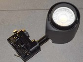 LED Tracklight 22W 3000K black body CRI92  high GAI