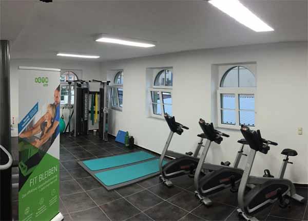 LED Umrüstung Fitnessstudio