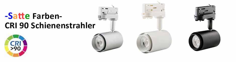LED 3Phasen Schienenstrahler mit CRI92