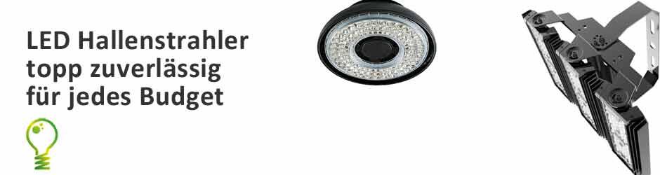 Zuverlässige LED Hallenstrahler gibt es bei u